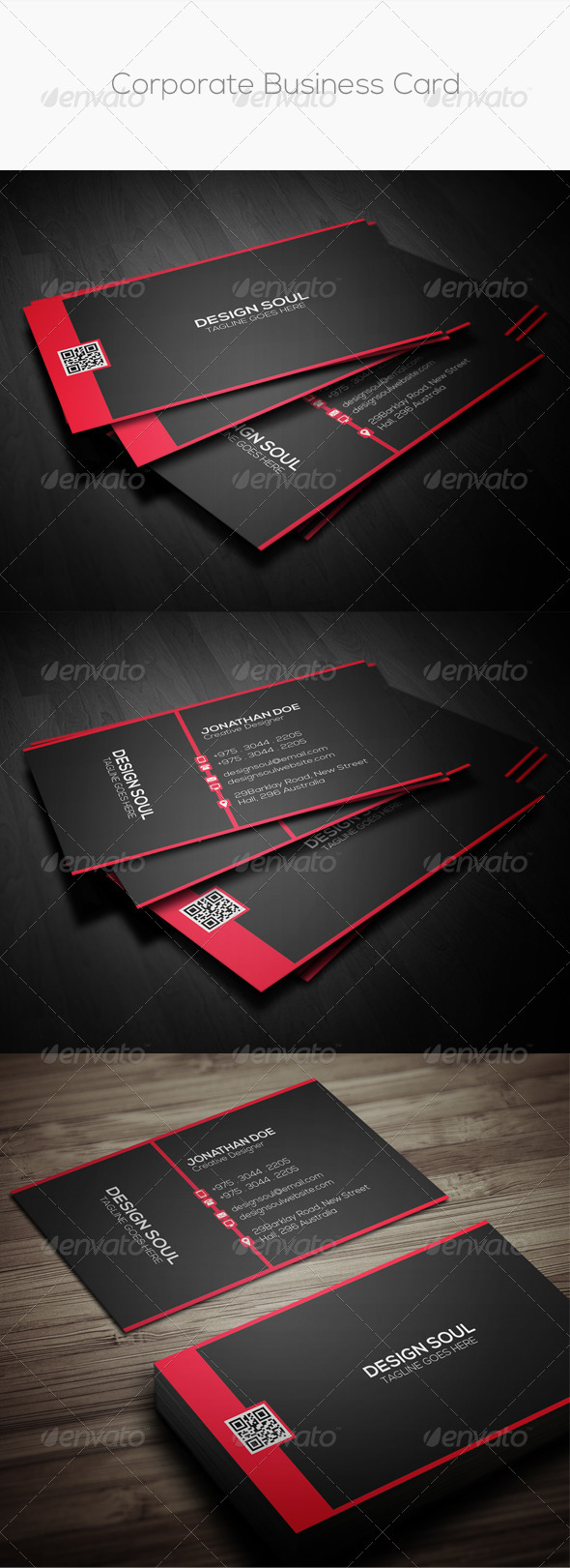GraphicRiver Corporate Business Card 8609253