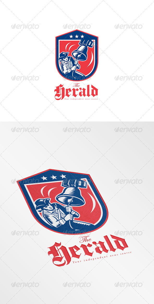 GraphicRiver Herald Independent News Logo 8609255