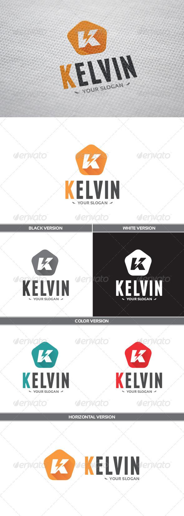 GraphicRiver Kelvin Logo 8609505