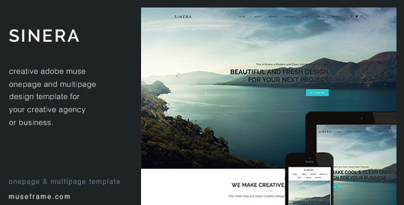 Sinera - Creative Muse Template - Creative Muse Templates
