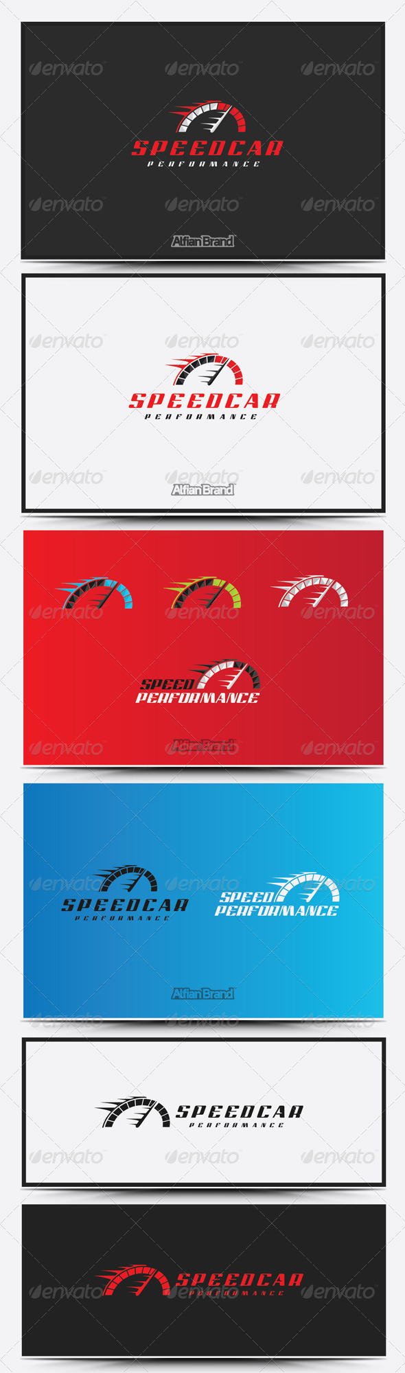 GraphicRiver Speed Car Logo 8610170