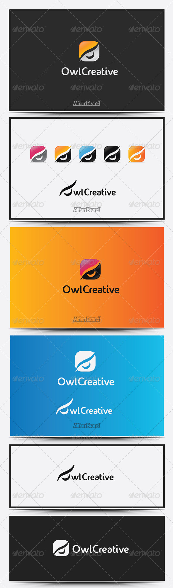 GraphicRiver Owl Clean logo 8610175
