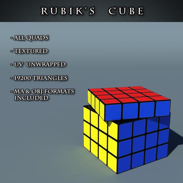 3DOcean Rubik s Cube 8610181
