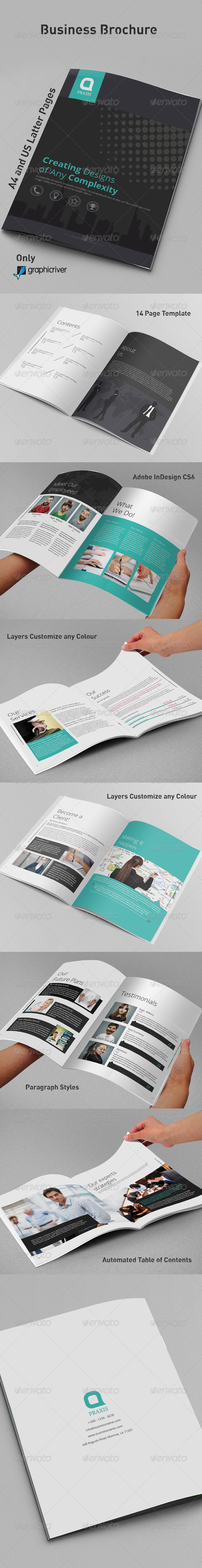 GraphicRiver Business Brochure 8610227