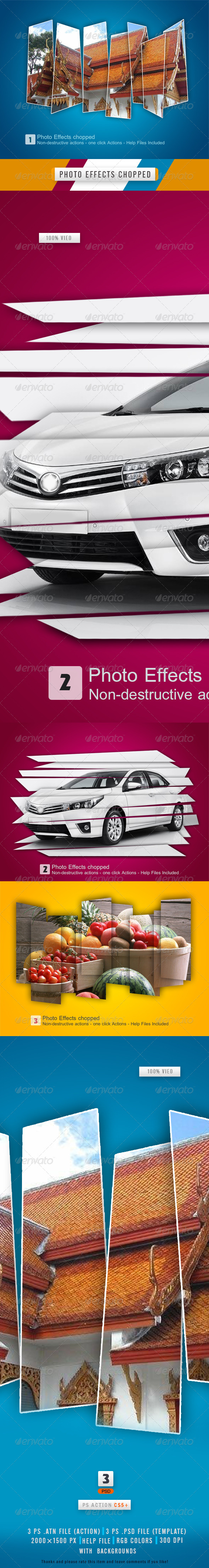 GraphicRiver Photo Effects Choppy 8610304