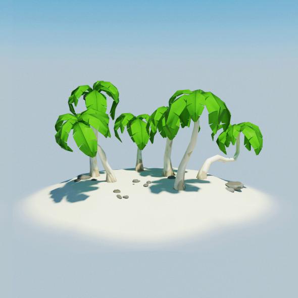 3DOcean Island 8610314