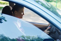 Happy Young Woman Driving a Car - PhotoDune Item for Sale