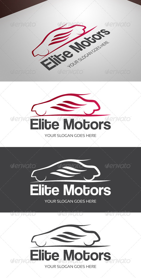 GraphicRiver Elite Motors Logo 8608319