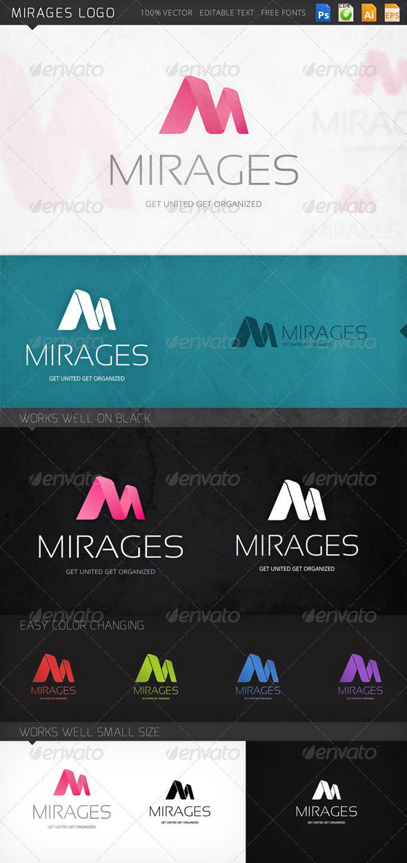 GraphicRiver Mirages Logo 8610842