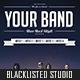 Alternative Rock / Concert Party Flyer - GraphicRiver Item for Sale