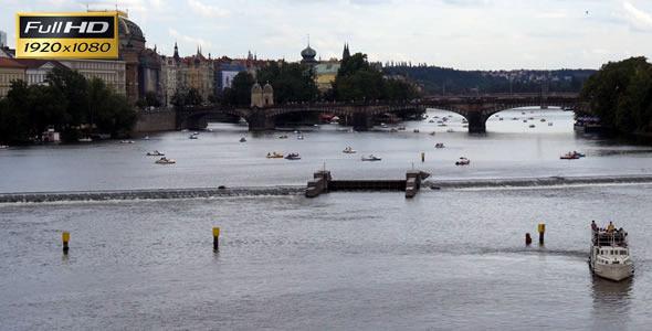 Vltava River Prague 1