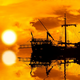 Schooner at Sunset - VideoHive Item for Sale