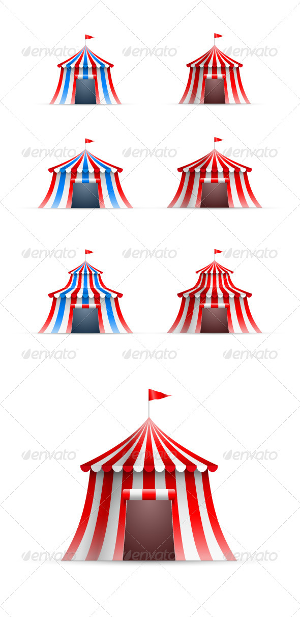 GraphicRiver Circus Tent 8611112