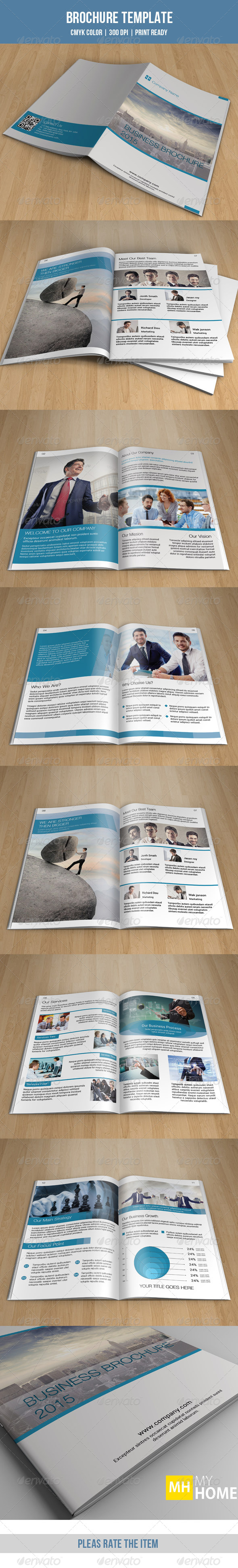 GraphicRiver Corporate Bifold Brochure-V113 8611362