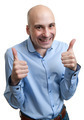 Happy man giving thumbs up sign - PhotoDune Item for Sale