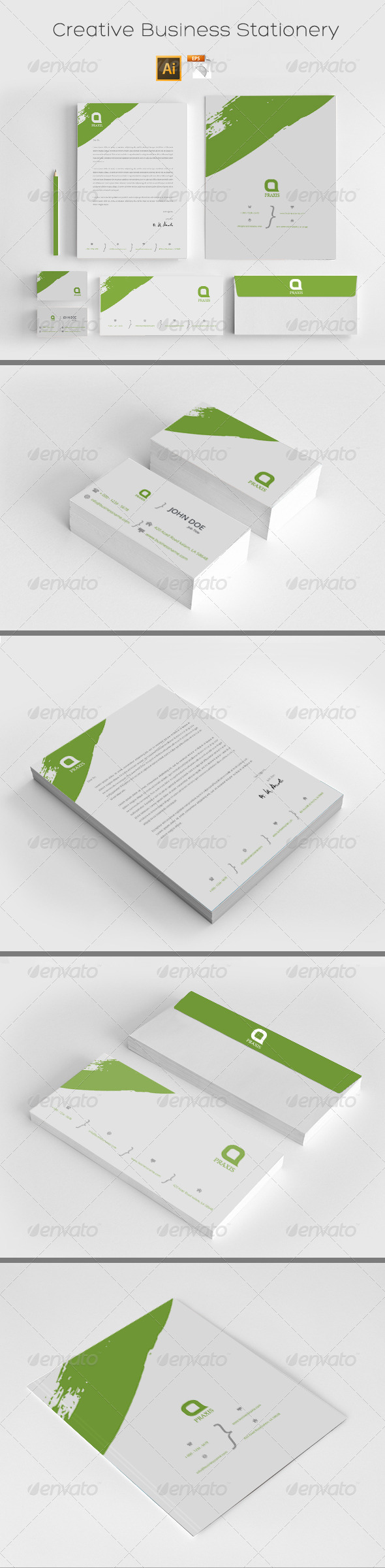 GraphicRiver Creative Business Stationery 8611664