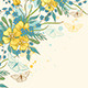Yellow Flowers and Butterflies - GraphicRiver Item for Sale