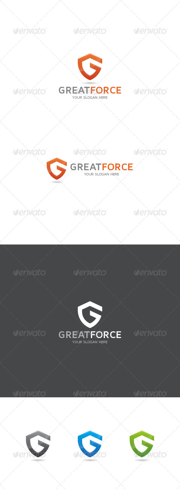 GraphicRiver G Letter Logo 8612061