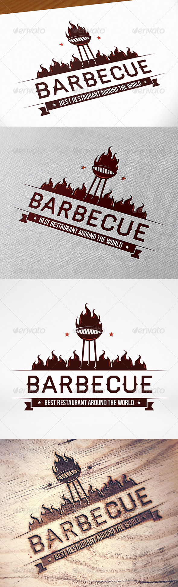 GraphicRiver BBQ Logo Template 8612136
