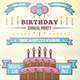 Birthday Party Flyer - GraphicRiver Item for Sale