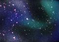 Fantasy deep space nebula with stars - PhotoDune Item for Sale