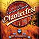 Oktoberfest Flyer Template V2 - GraphicRiver Item for Sale