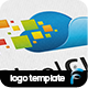 Pixel Cloud Logo - GraphicRiver Item for Sale