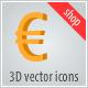 3d vector icons. Shop - ActiveDen Item for Sale