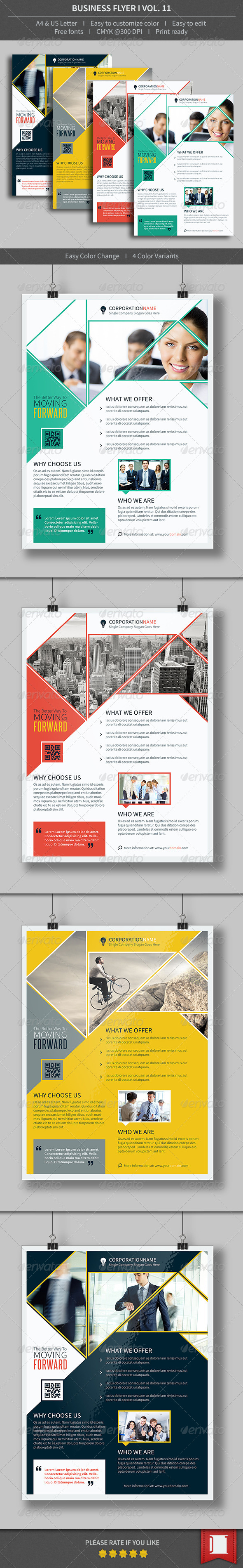 GraphicRiver Business Flyer Volume 11 8613105