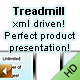 Treadmill - product presentation - XML driven - ActiveDen Item for Sale