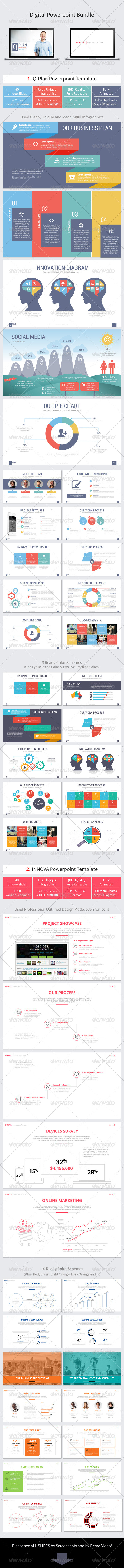 GraphicRiver Digital Powerpoint Bundle 8613162