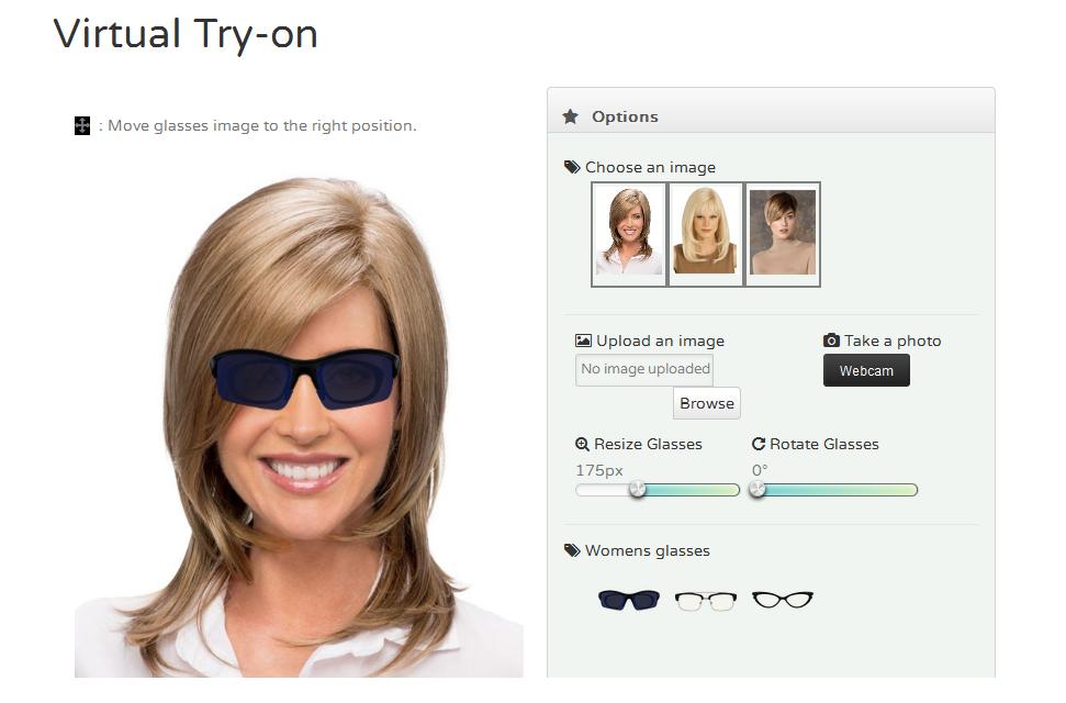 Try On Eyeglasses Online Free