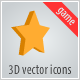 3d vector icons. Game - ActiveDen Item for Sale