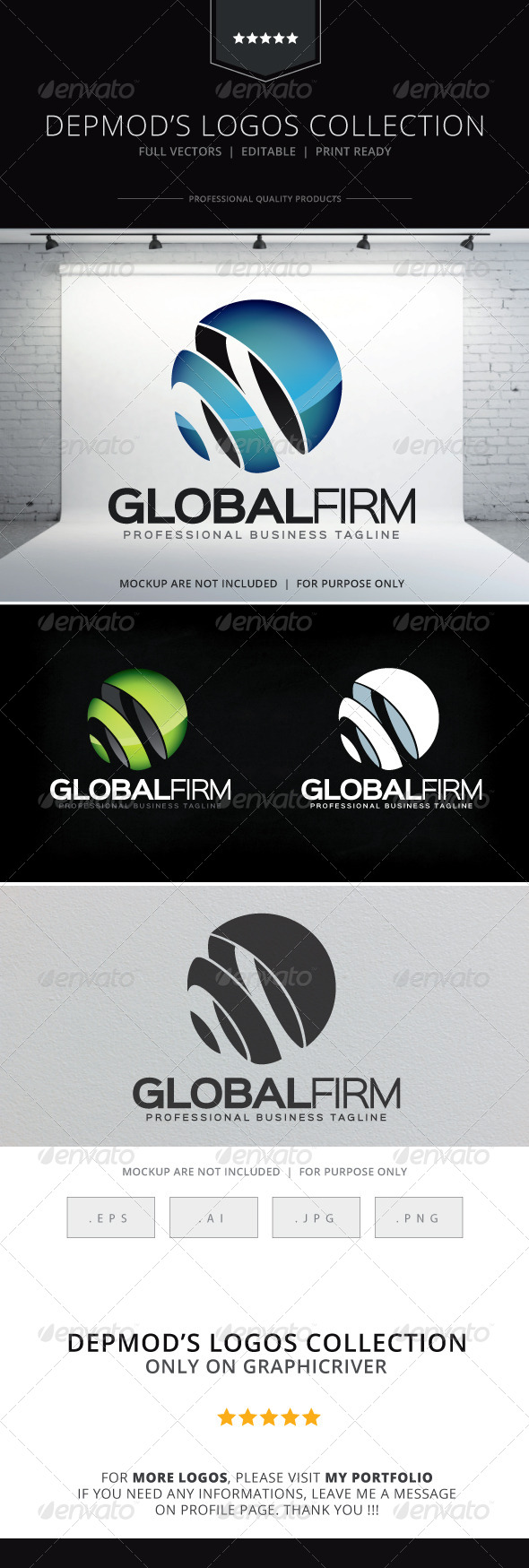 GraphicRiver Global Firm Logo 8613562