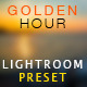 Golden Hour (Hot&Cold) Lightroom Preset - GraphicRiver Item for Sale