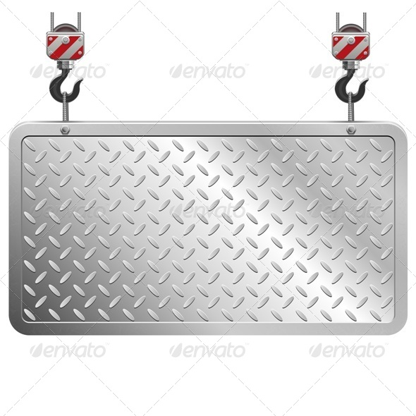 GraphicRiver Vector Metal Board 8614803