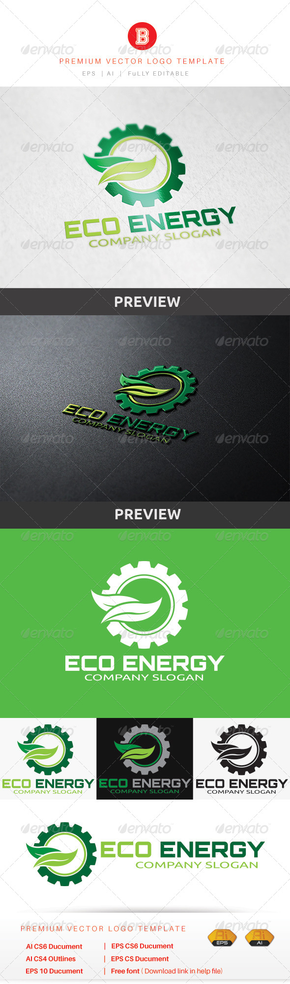 GraphicRiver Eco Energy 8615530
