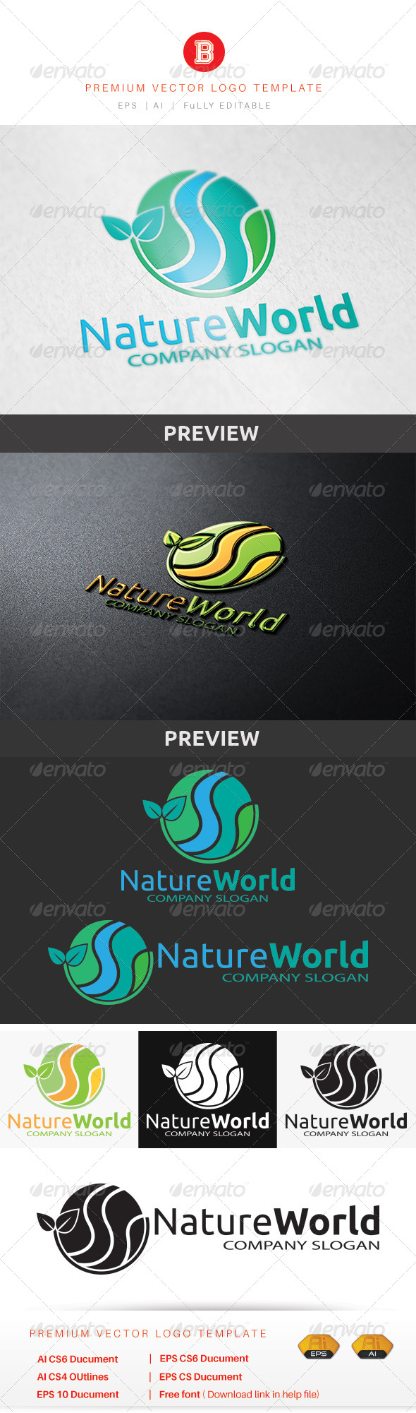 GraphicRiver Nature World 8615536