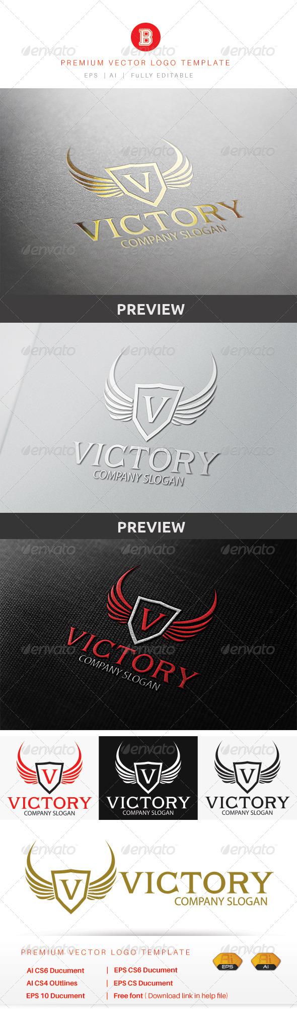 GraphicRiver Victory Logo 8615556