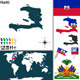 Map of Haiti - GraphicRiver Item for Sale