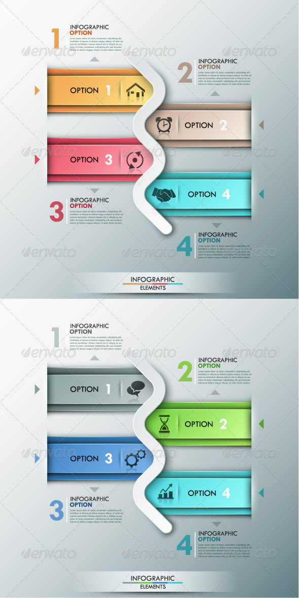 GraphicRiver Modern Infographic Options Banner 2 Versions 8615722