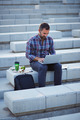Modern businessman working outdoors - PhotoDune Item for Sale