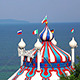 Dome of the Circus Near the Sea - VideoHive Item for Sale