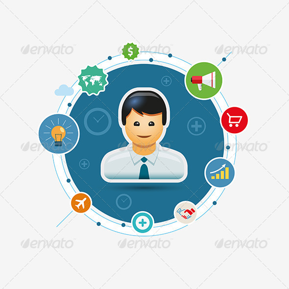 GraphicRiver Business Marketing Circle 8611225
