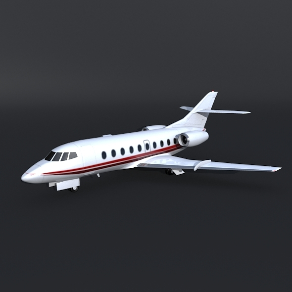 3DOcean Dassault Falcon 30 business jet 8616489