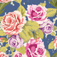Rose Seamless  Background - GraphicRiver Item for Sale