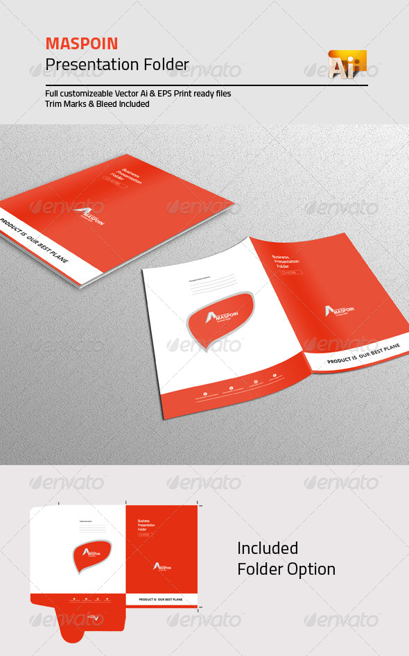 GraphicRiver Maspoin Presentation Folder 8609183