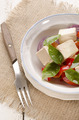 salad with tomato and olive oil - PhotoDune Item for Sale