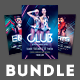 Electro Club Flyer Bundle - GraphicRiver Item for Sale