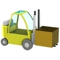 Forklift - PhotoDune Item for Sale